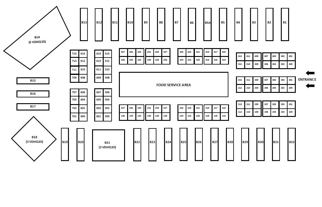 2019 OTE Exhibitor Floorplan